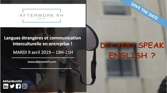 Afterwork RH langues étrangères & communication interculturelle